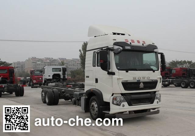 豪沃牌ZZ1207N60HGE1载货汽车底盘