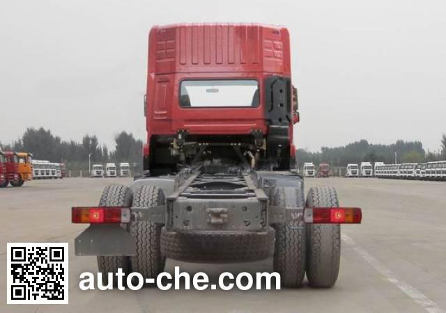 斯达-斯太尔牌ZZ1243M466GD1载货汽车底盘