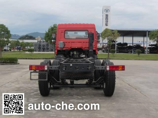 豪曼牌ZZ1258GH0EB0载货汽车底盘