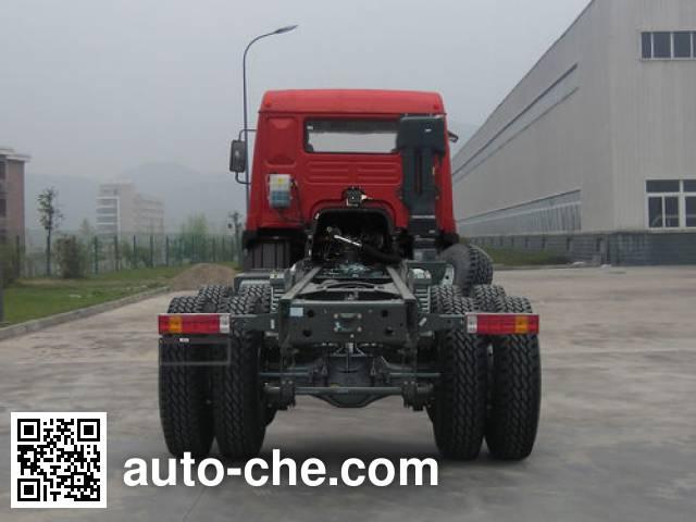 豪曼牌ZZ1258M40DB0载货汽车底盘