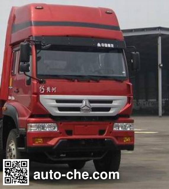 黄河牌ZZ1314K3866C1载货汽车