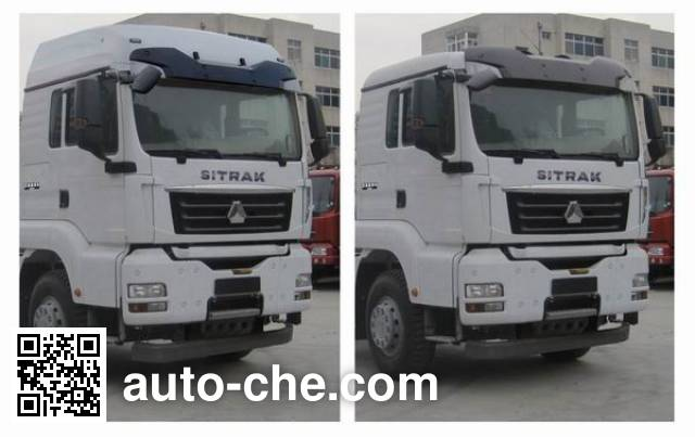 Sinotruk Sitrak ZZ5316CPYM466GD1 soft top box van truck