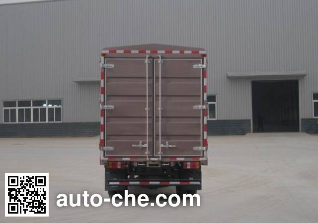 豪沃牌ZZ2047CCYF3325E145越野仓栅式运输车