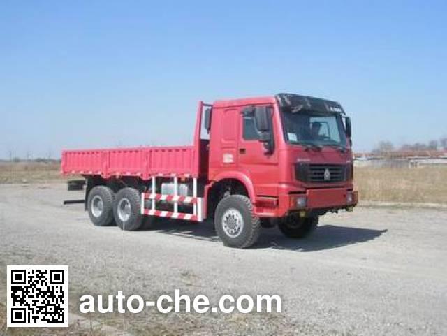 豪泺牌ZZ2257N3857C1越野载货汽车