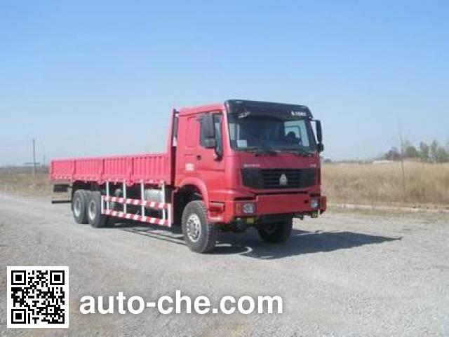 豪泺牌ZZ2257N5857C1越野载货汽车