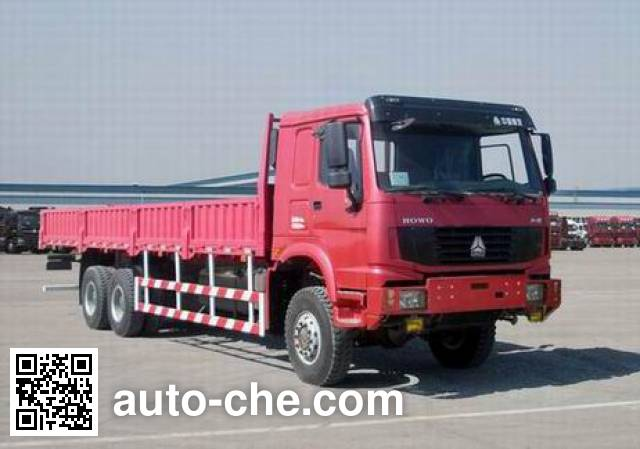 豪泺牌ZZ2257N5857D1越野载货汽车