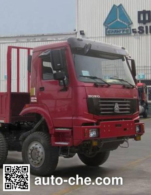 豪沃牌ZZ2317N3877D1越野载货汽车