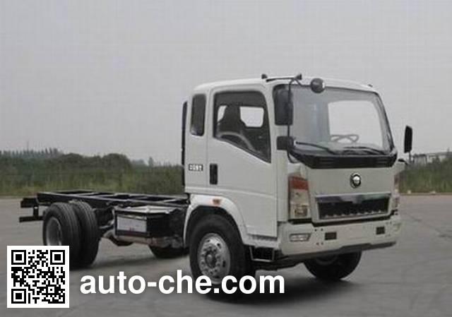 Huanghe ZZ3047E3514D143 dump truck chassis
