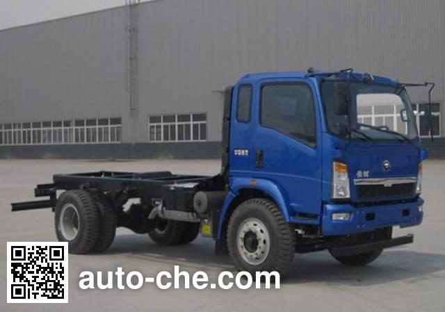 Huanghe ZZ3167K4115D1 dump truck chassis