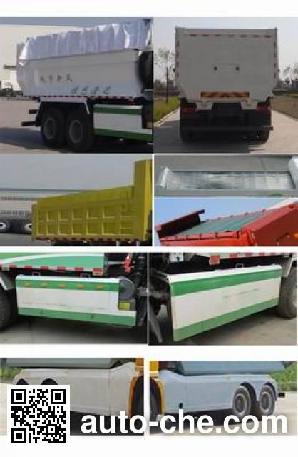 Sida Steyr ZZ3251N3841E1L dump truck