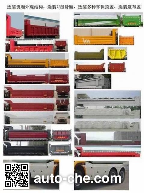Sinotruk Hohan ZZ3255N4046E1 dump truck