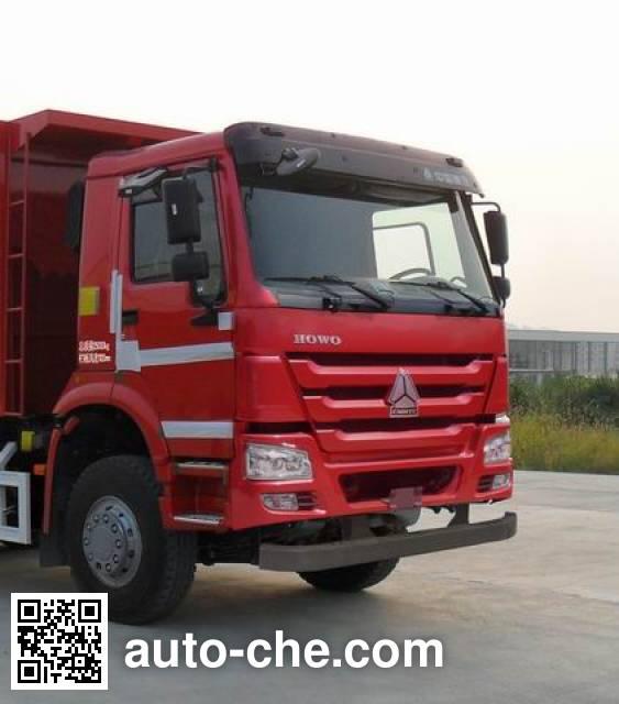 Sinotruk Howo ZZ3257N3847D1M methanol/diesel dual fuel dump truck