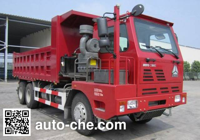 威泺牌ZZ3259M414PD3自卸汽车