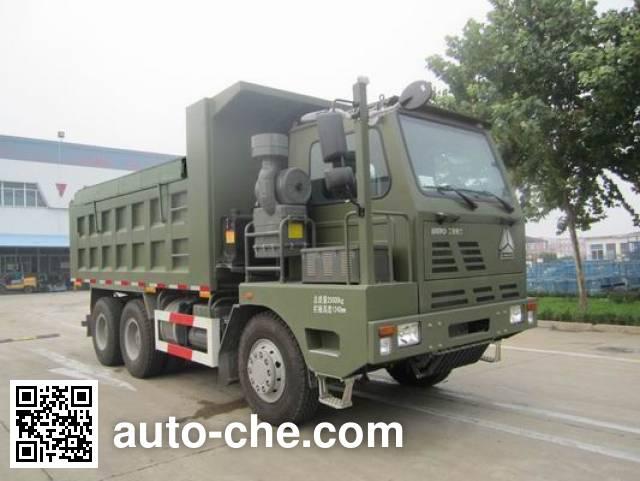 威泺牌ZZ3259M344PD3自卸汽车