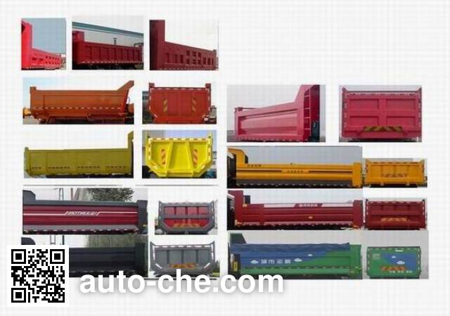Sida Steyr ZZ3253N4341D1N dump truck