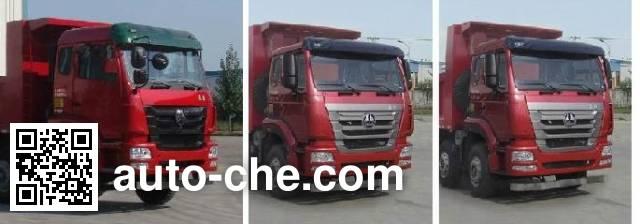 豪瀚牌ZZ3315M2866D1自卸汽车