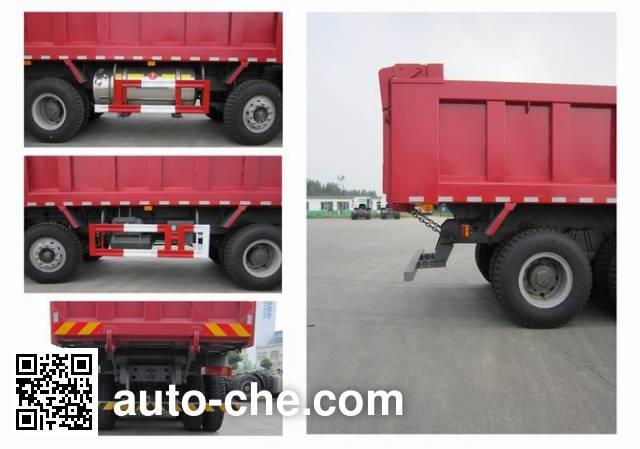 豪瀚牌ZZ3315M3563E1L自卸汽车
