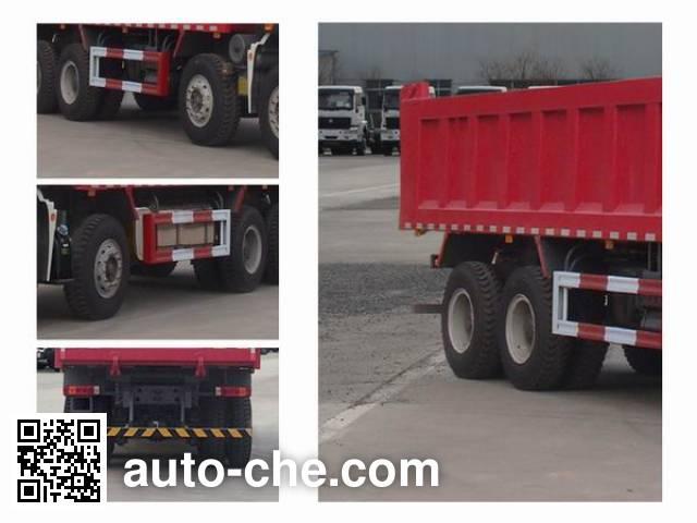豪瀚牌ZZ3315N3566E1自卸汽车