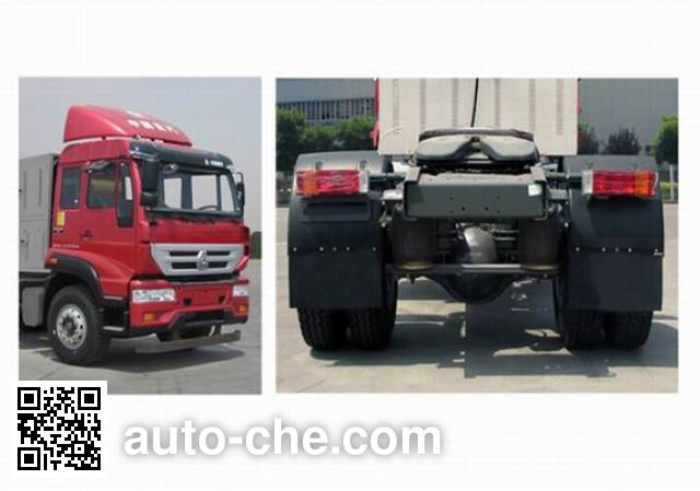 Sida Steyr ZZ4181M421GE1LZ container carrier vehicle