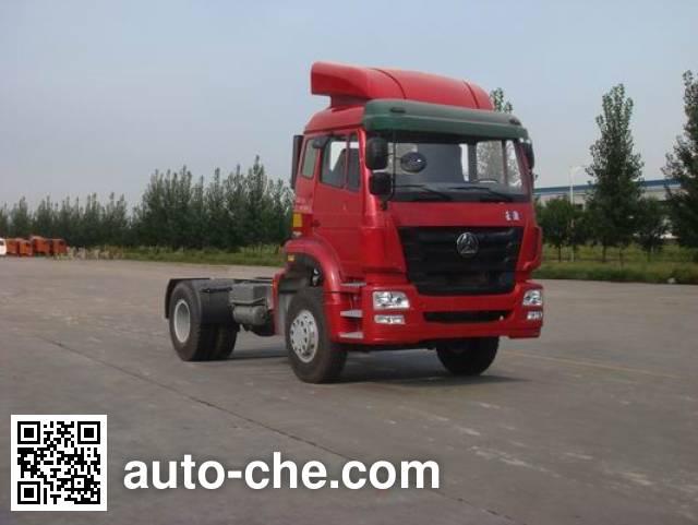 豪瀚牌ZZ4185M3516D1Z集装箱半挂牵引车