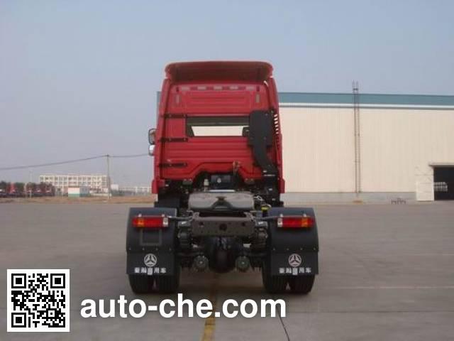 豪瀚牌ZZ4185N3516D1Z集装箱半挂牵引车