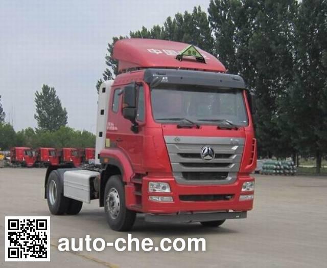 Sinotruk Hohan ZZ4185V4216E1CW dangerous goods transport tractor unit