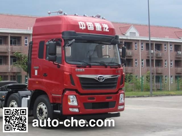 Homan ZZ4188K10EL0 natural gas tractor unit