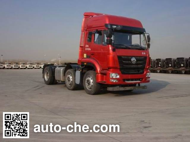 Sinotruk Hohan ZZ4255N27C6D1H tractor unit
