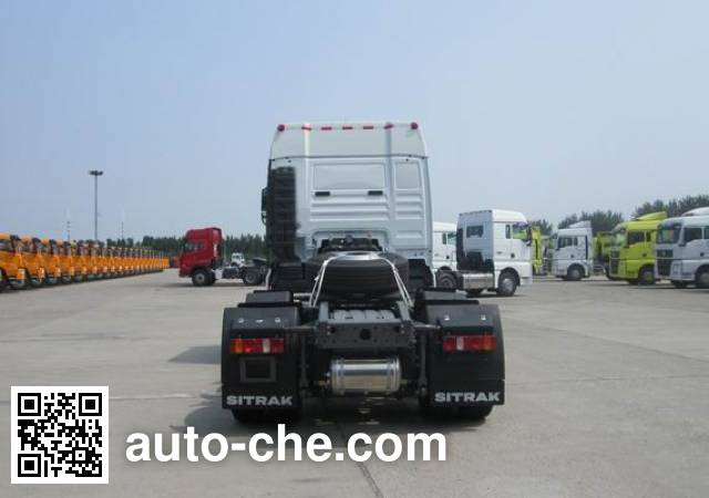 汕德卡牌ZZ4256V26FHE1B牵引汽车