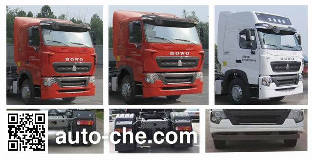 Sinotruk Howo ZZ4257N27CWE1 tractor unit