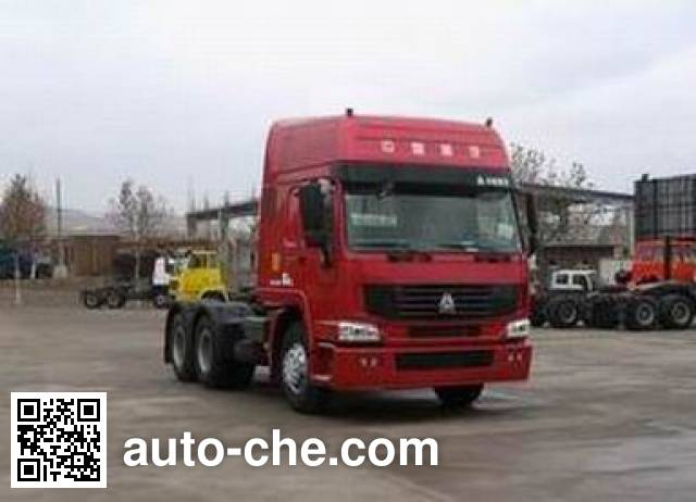 Sinotruk Howo ZZ4257N3247CZ container carrier vehicle