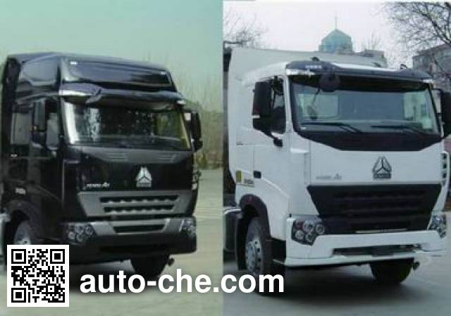 Sinotruk Howo ZZ4257N3247N1Z container transport tractor unit