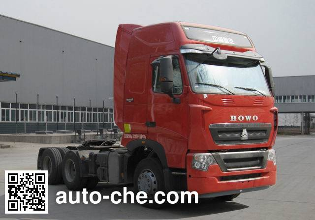 Sinotruk Howo ZZ4257V324HD1Z container carrier vehicle