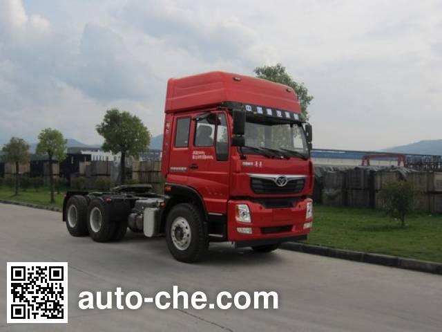 豪曼牌ZZ4258M40EB0牵引汽车