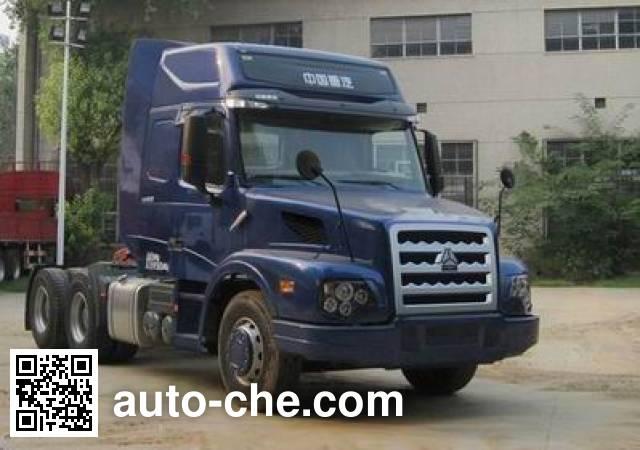 Sinotruk Wero ZZ4259M394CC1Z container carrier vehicle
