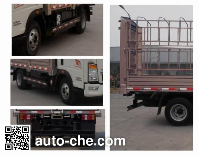 豪沃牌ZZ5047CCYD3415E143C仓栅式运输车