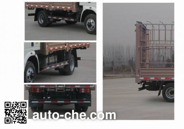 豪沃牌ZZ5047CCYF3315E145仓栅式运输车