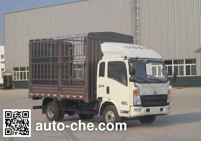 Sinotruk Howo ZZ5047CCYF341BD145 stake truck