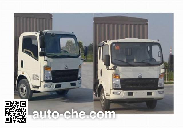 Sinotruk Howo ZZ5047CCYF341CD1Y44 stake truck