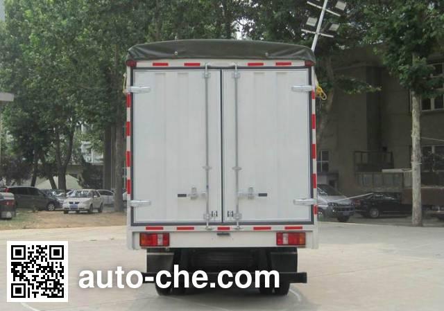 Sinotruk Howo ZZ5047CPYB2813D1Y45 soft top box van truck