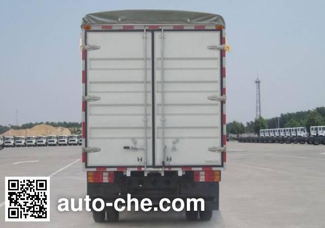 Sinotruk Howo ZZ5047CPYC3413D144 soft top box van truck