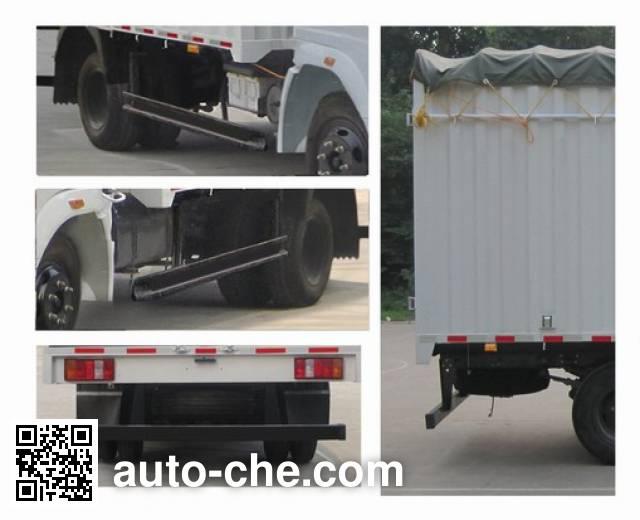 Sinotruk Howo ZZ5047CPYD3415D137 soft top box van truck