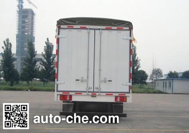 Sinotruk Howo ZZ5047CPYD3414D137 soft top box van truck