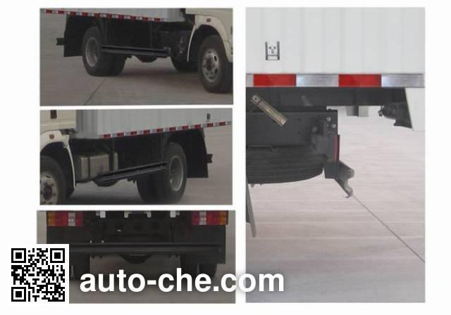 Sinotruk Howo ZZ5047CPYF341BD1Y45 soft top box van truck