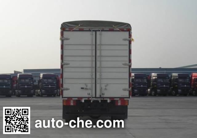 Sinotruk Howo ZZ5047CPYF341CD1Y45 soft top box van truck