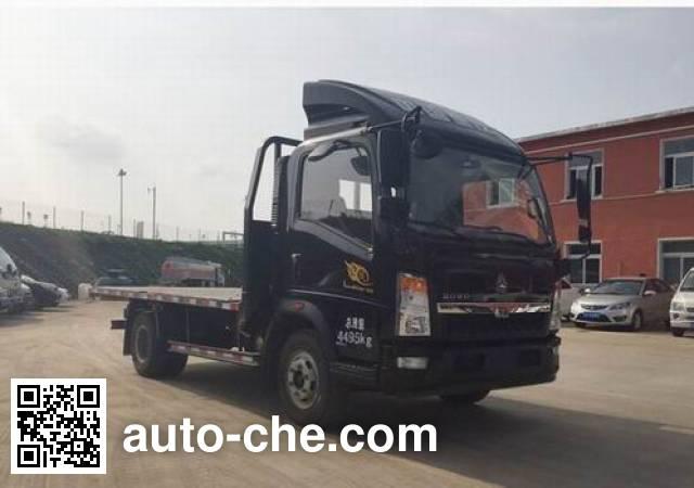 Sinotruk Howo ZZ5047TPBF341CE145 flatbed truck