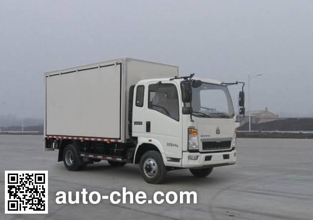 豪沃牌ZZ5047XSHF3315E145售货车