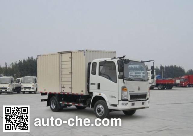 Sinotruk Howo ZZ5047XXYG3314E145 box van truck