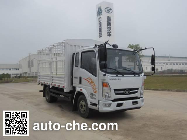 豪曼牌ZZ5048CCYD17EB1仓栅式运输车