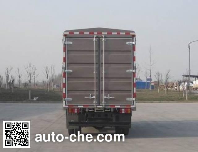豪沃牌ZZ5057CCYF381CD154仓栅式运输车